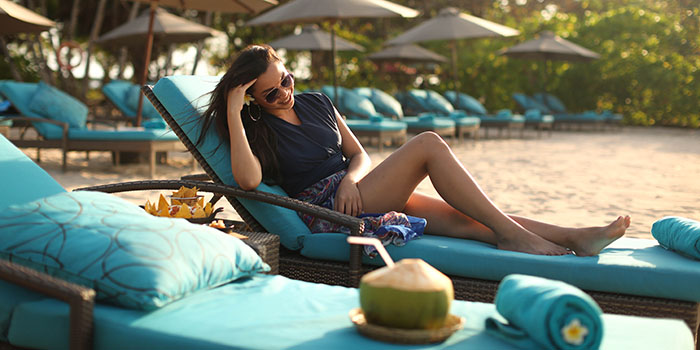 Vibe from The The Beach Club at Courtyard by Marriott Bali Nusa Dua Resort, Bali