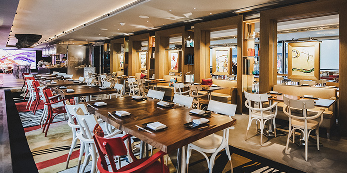 Main Dining Area of Akira Back in JW Marriott Hotel Singapore South Beach in City Hall, Singapore