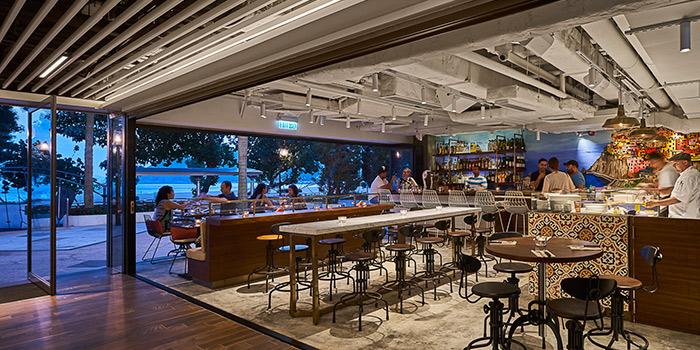 Interior, Amalfitana Artisan Pizza Bar, Repulse Bay, Hong Kong