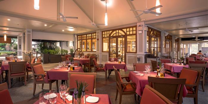 Interior of  Bodega & Grill in Bangtao, Phuket, Thailand.