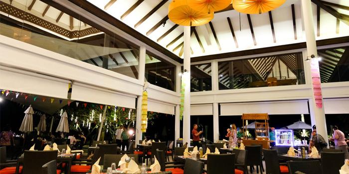 Interior of  Seedings Phuket in Bangtao, Phuket, Thailand.