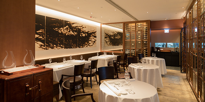 Interior, Castellana Restaurant, Causeway Bay, Hong Kong