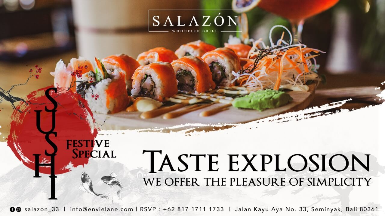 Taste Explosion from Salazon Bali