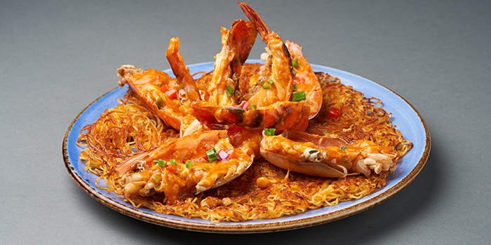 King Prawn Chao Ta Noodle from Lokkee in Dhoby Ghaut, Singapore
