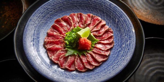 Kobe Beef Sashimi, Tokio Joe, Lan Kwai Fong, Hong Kong