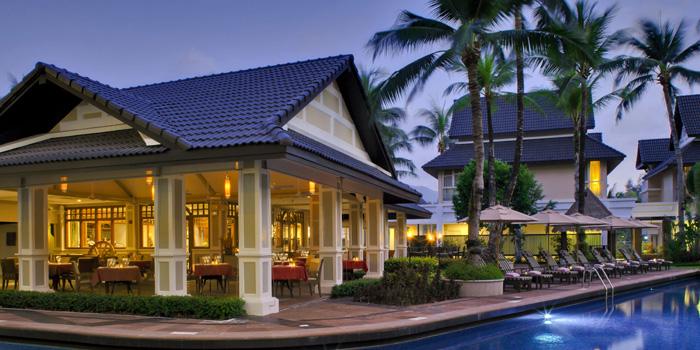 Landscape of  Bodega & Grill in Bangtao, Phuket, Thailand.