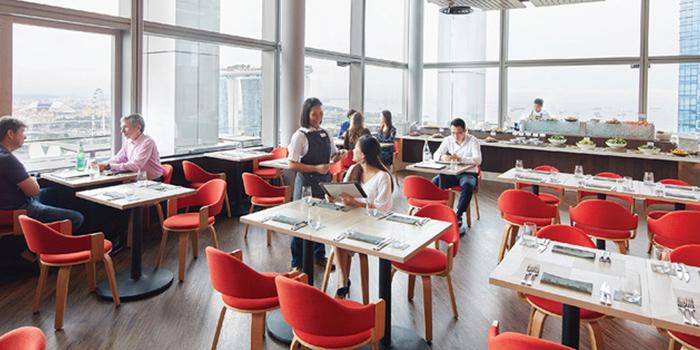 Social of LeVeL33 in Marina Bay Financial Centre in Marina Bay, Singapore