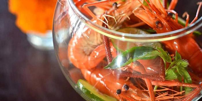 Lime Kemangi Shrimp from Sambal Shrimp, Seminyak, Bali