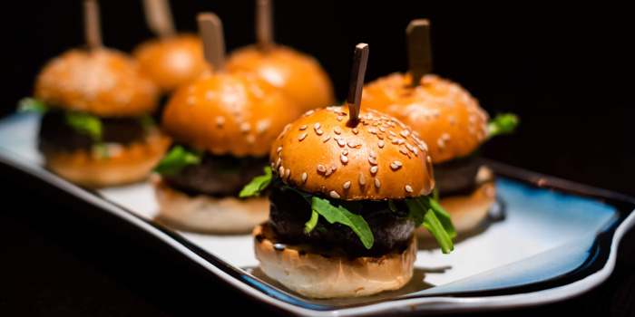 Mini Burgers, Stuffed Kitchen@mazu, Lan Kwai Fong, Hong Kong