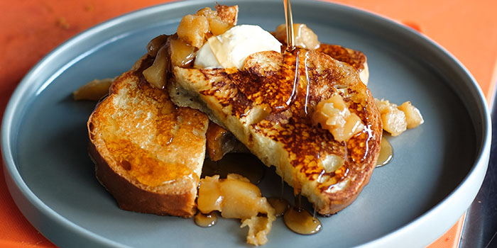 Food from Brunch Club, Legian, Bali