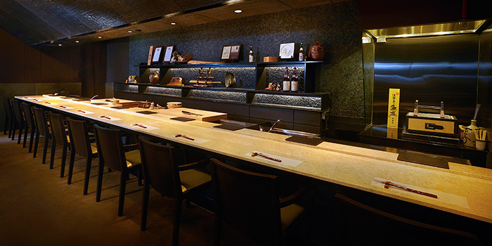 Omakase Counter from Kuriya Dining in River Valley, Singapore