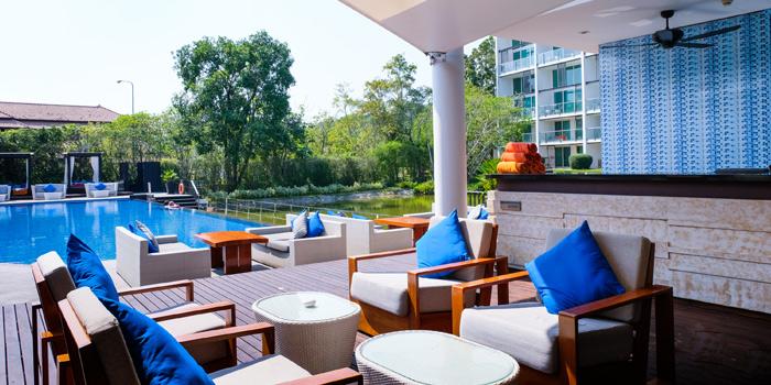 Outdoor of  Panache Restaurant in Bangtao, Phuket, Thailand.