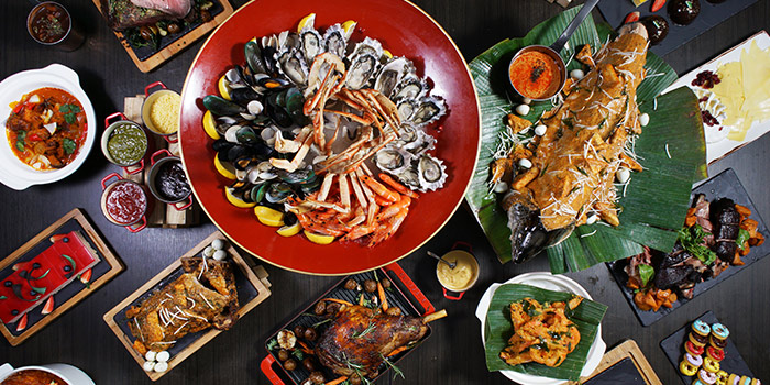 Oyster Brunch Buffet from Food Exchange at Novotel Singapore on Stevens in Tanglin, Singapore