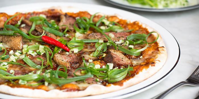 Peking Duck Pizza, PizzaExpress Lab, Causeway Bay, Hong Kong