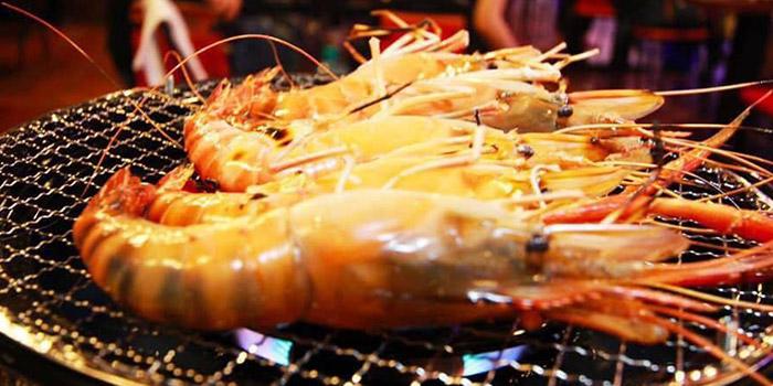 Prawn, Thai BBQ Shrimp, Yuen Long, Hong Kong