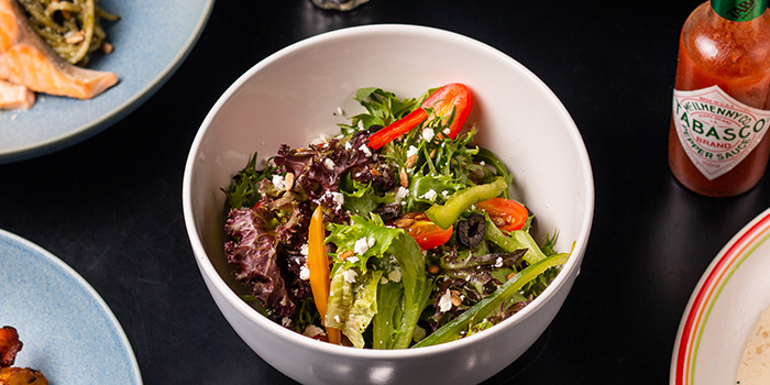 House Salad from 18 Hours @ Hotel 1887 in Chinatown, Singapore