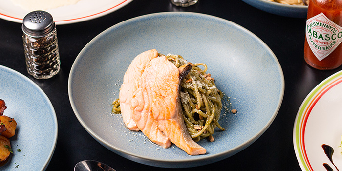 Salmon Pesto from 18 Hours @ Hotel 1887 in Chinatown, Singapore