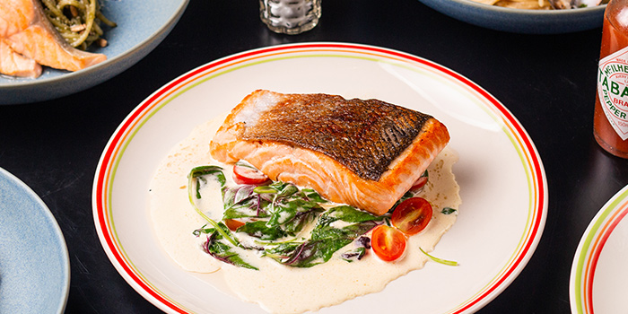 Tuscani Salmon from 18 Hours @ Hotel 1887 in Chinatown, Singapore
