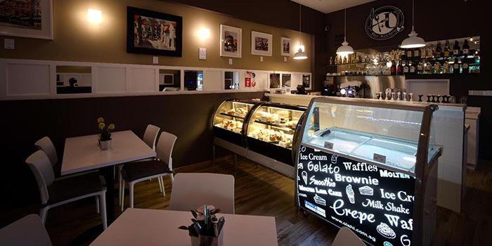 Interior of 4+U Bar+Kitchen in Tiong Bahru, Singapore