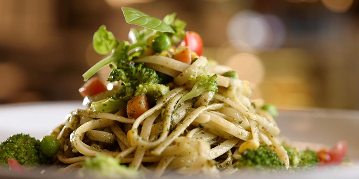 Linguine with Pesto from 4+U Bar+Kitchen in Tiong Bahru, Singapore
