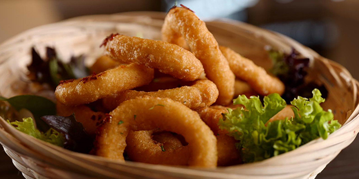 Onion Rings from 4+U Bar+Kitchen in Tiong Bahru, Singapore