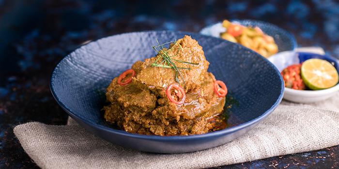 Beef Rendang from Godmama at Funan Mall in City Hall, Singapore