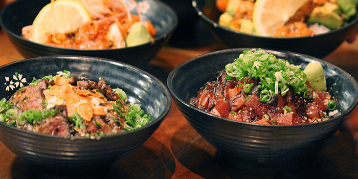 All Donburi from Koji Sushi Bar (Raffles City) in City Hall, Singapore