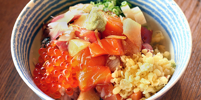 Chirashi Don from Koji Sushi Bar (Raffles City) in City Hall, Singapore
