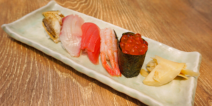 Sushi Set from Koji Sushi Bar (Raffles City) in City Hall, Singapore