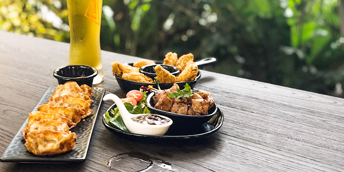 Platter from Lounge 7 in Dempsey, Singapore
