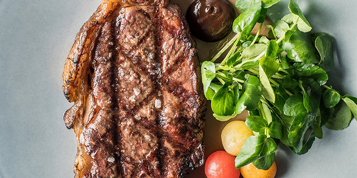 Westtholme Wagyu Striploin from One-Ninety at Four Seasons Hotel Singapore in Orchard Road, Singapore