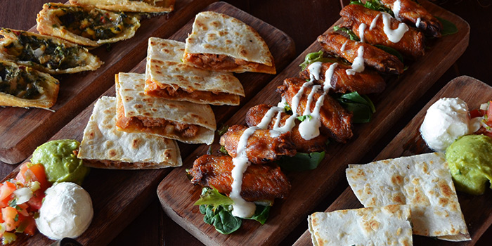 Appetizers from Santa Fe Tex-Mex Grill in Bugis, Singapore