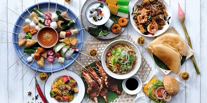 Penang Street Fare Food Spread (12 Jul to 8 Sep) from Sky22 at Courtyard by Marriott Singapore Novena in Novena, Singapore
