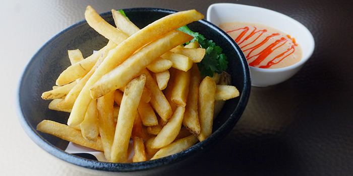 Fries from Spicy Rock at Capitol Piazza in City Hall, Singapore