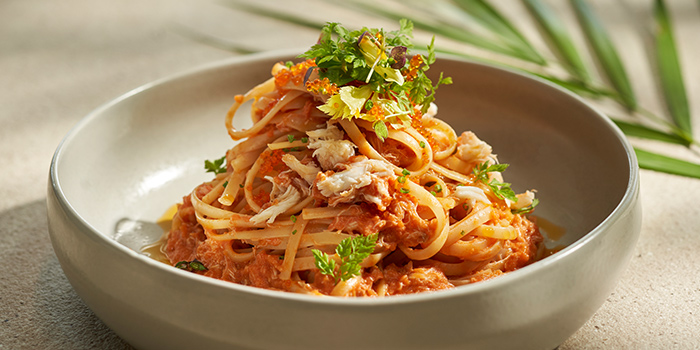 Pasta from Tanjong Beach Club - The Dining Room on Tanjong Beach Walk on Sentosa Island, Singapore