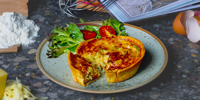 Crab Quiche from The Affogato Lounge in Keong Saik, Singapore