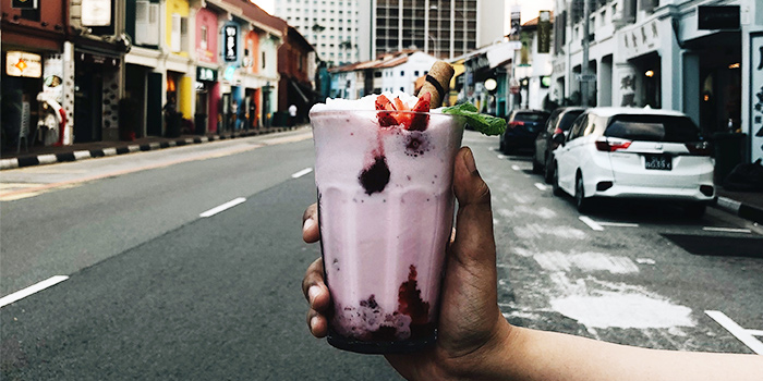 Milkshake from The Co-Op Tampines in Tampines, Singapore