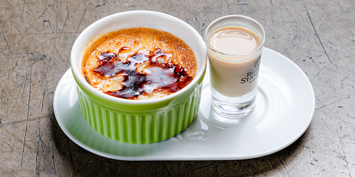 Baileys Creme Brulee from Thunderbird Bistro in Robertson Quay, Singapore