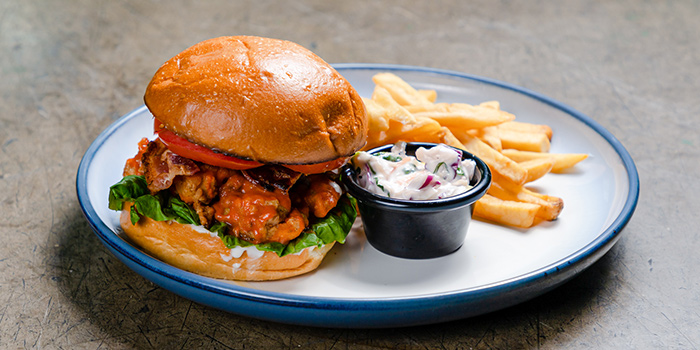 Buffalo Fried Chicken from Thunderbird Bistro in Robertson Quay, Singapore