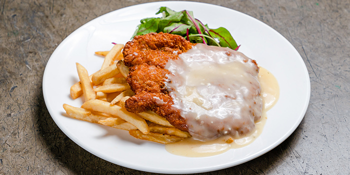 Chicken Steak from Thunderbird Bistro in Robertson Quay, Singapore