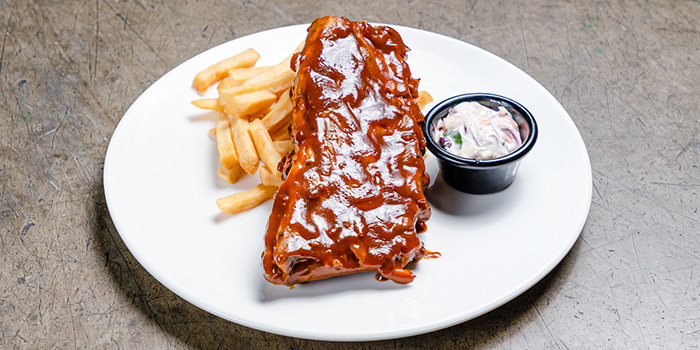 Pork Ribs  from Thunderbird Bistro in Robertson Quay, Singapore