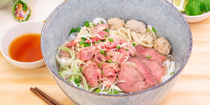 Beef Pho from TONKIN Vietnamese Noodle and Coffee at Kinex Mall in Paya Lebar, Singapore