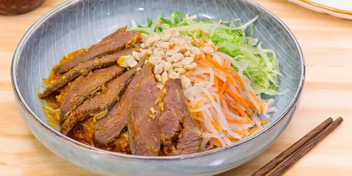 Sliced Beef from TONKIN Vietnamese Noodle and Coffee at Kinex Mall in Paya Lebar, Singapore