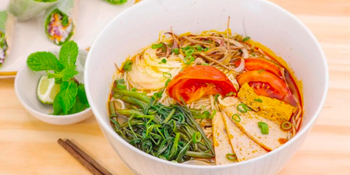 Vietnamese Noodles from TONKIN Vietnamese Noodle and Coffee  at Kinex Mall in Paya Lebar, Singapore