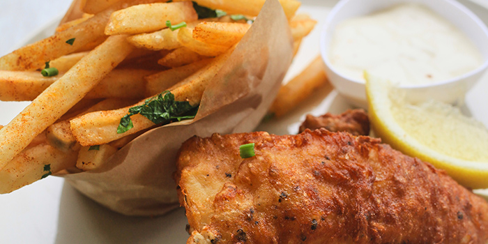 Fish & Chips from TWO Bakers (Serangoon) in Serangoon, Singapore