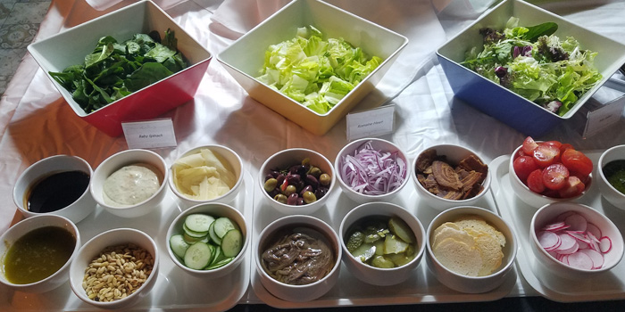 Salad Bar, Stuffed Kitchen@mazu, Lan Kwai Fong, Hong Kong