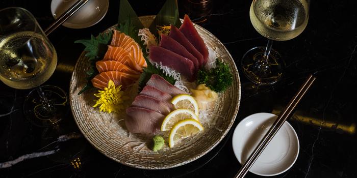 Sashimi Dishes from SEEN Restaurant & Bar Bangkok at AVANI Riverside Bangkok Hotel, Charoennakorn Road, Bangkok