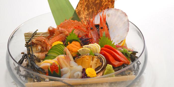 Sashimi Dishes from Shintaro at Anantara Siam in Ratchadamri, Bangkok