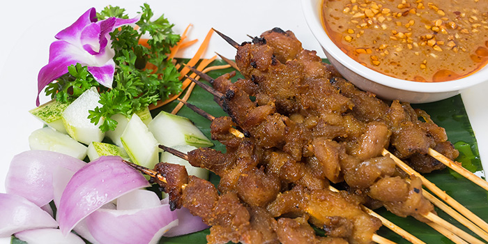 Satay from Coconut Paradise in Tanjong Pagar, Singapore