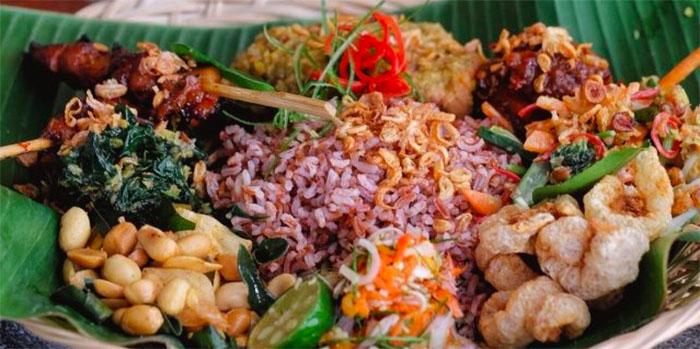 Food from Manarai Beach House, Nusa Dua, Bali